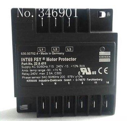 [SA] Germany KRIWAN INT69 FSY protection module[SA] Germany KRIWAN INT69 FSY protection module