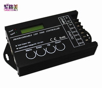 TC421 DC12 24V New WIFI Connect Time Programmable Controller With 5CH For RGB RGBW Led Strip