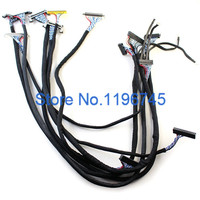 Common Used HD LVDS Cable For LCD Display Panel Controller Large Size Screen Cable For Sharp