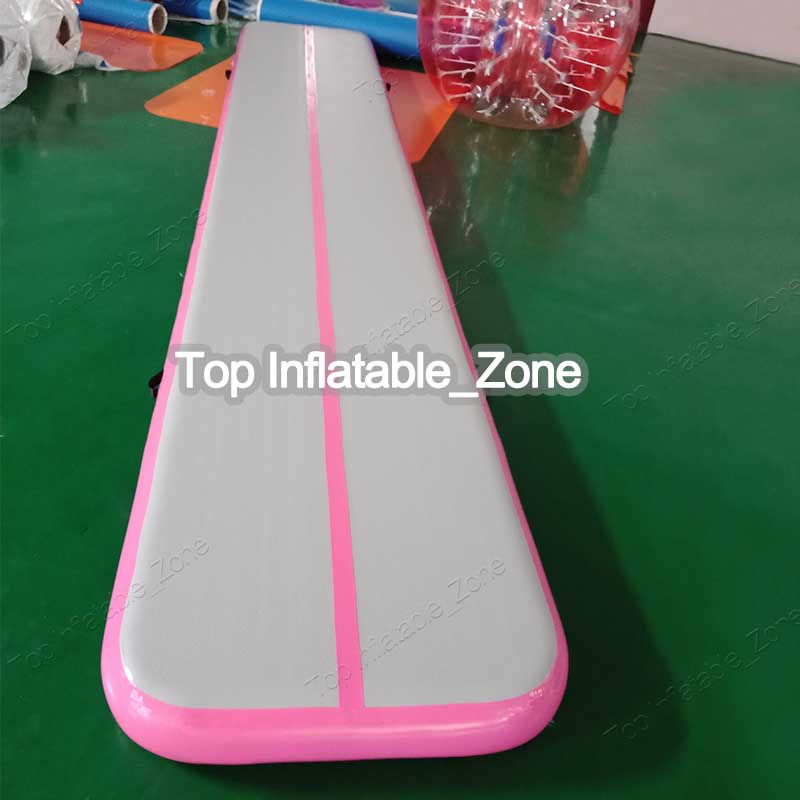 Free Shipping 5m Pink Inflatable Cheap Gymnastics Mattress Gym Tumble Airtrack Floor Tumbling Air Track For SaleFree Shipping 5m Pink Inflatable Cheap Gymnastics Mattress Gym Tumble Airtrack Floor Tumbling Air Track For Sale