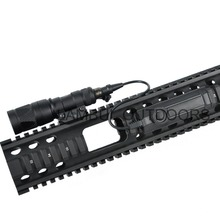 Night-Evolution Tactical Dual Function Tape Switch Weapon Light Flashlight Switch for Airsoft Light M300 M600 M951 M952 Softair