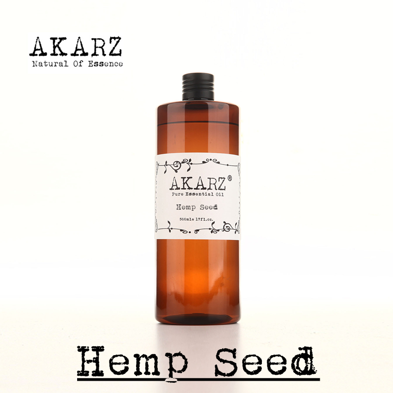 Natural Body Care Hemp Seed Massage Oil