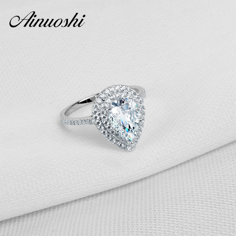Sterling Silver SONA Rings For Women Jewelry Wedding Rings 925 Sterling Silver Jewelry Classic Engagement Ring тарелка для микроволновой печи bmgroup daewoo kor 610s