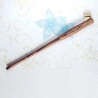 Handmade Bocote Wood Copperplate Script Antique Dip Pen Holder Oblique Calligraphy Dip Pen