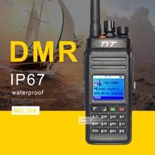 TYT MD398 DMR Numérique Talkie Walkie Étanche IP67 Deux Way Radio Haute Puissance 10 W UHF400-470 Jambon Émetteur-Récepteur Radio Portable Radio