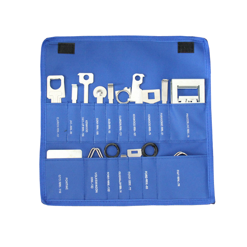 38pcs/set Professional Car Radio Removal Tools Audio CD Stereo Release Auto Repair Tool Kit