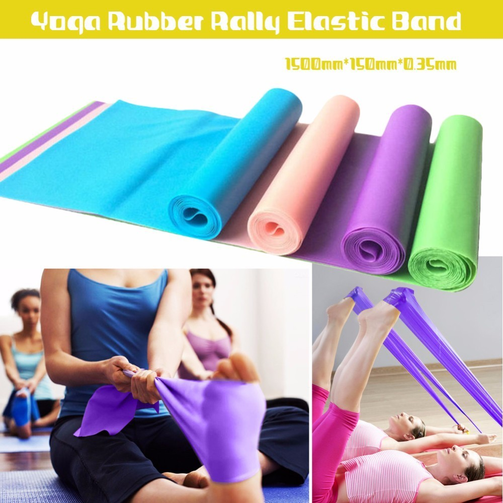 Stretching Gum Fitness Elastic Band Workout Athletic Resistance Sport Rubber Bands Training Exercise Bands Expander Accessories rubber bands to weave bracelet 4200pcs gum diy charm for plaiting eavingel wastic band boy girl hair accessories machine set