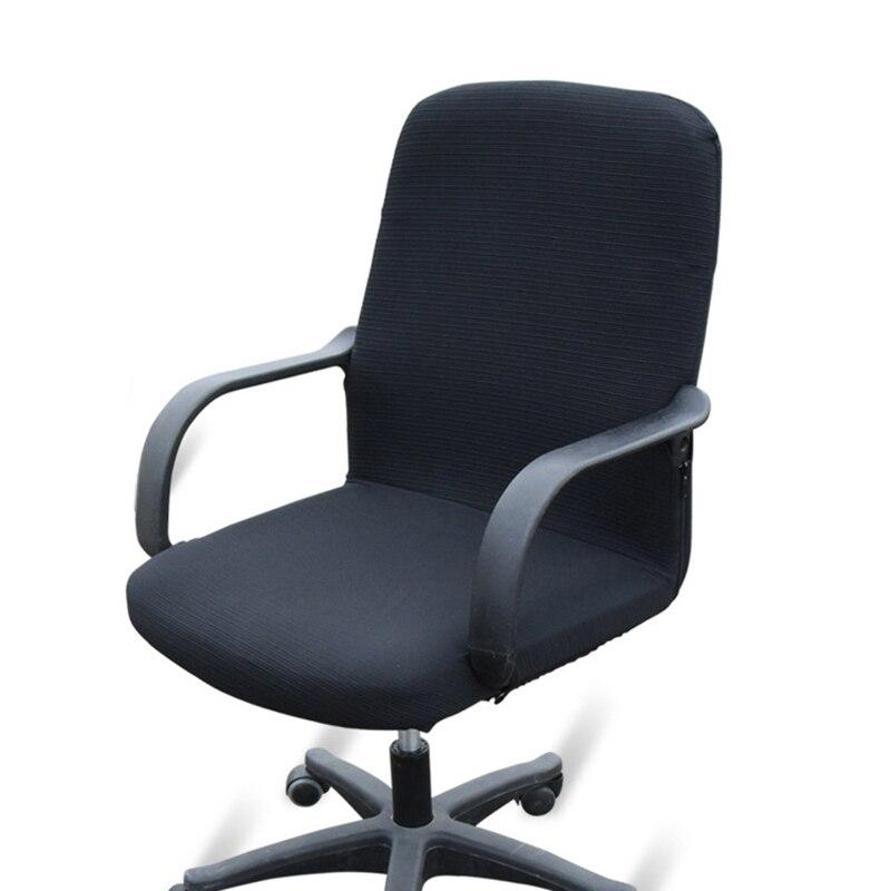 sélection premium a539f 47e5d € 9.42 36% de réduction Housse de chaise de bureau housses de siège pour  chaises d'ordinateur housse de fauteuil élastique extensible housse de ...