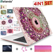 Buy Fashion Ornamental Crystal Case For Apple Macbook Air 13 11 Pro 13 12 15 Retina Laptop Print Cover For Mac Pro 13 15 No Retina  directly from merchant!