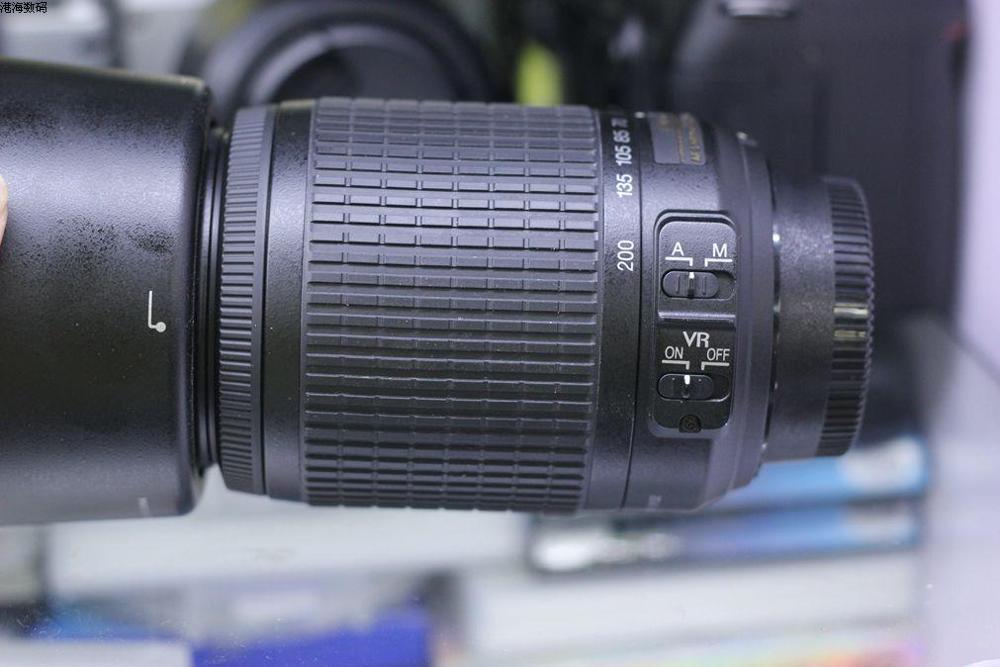VERWENDET Nikon 55 200mm f/4 5,6G ED WENN AF S DX VR Nikkor Zoom Objektiv [Vibration Reduktion] - 4