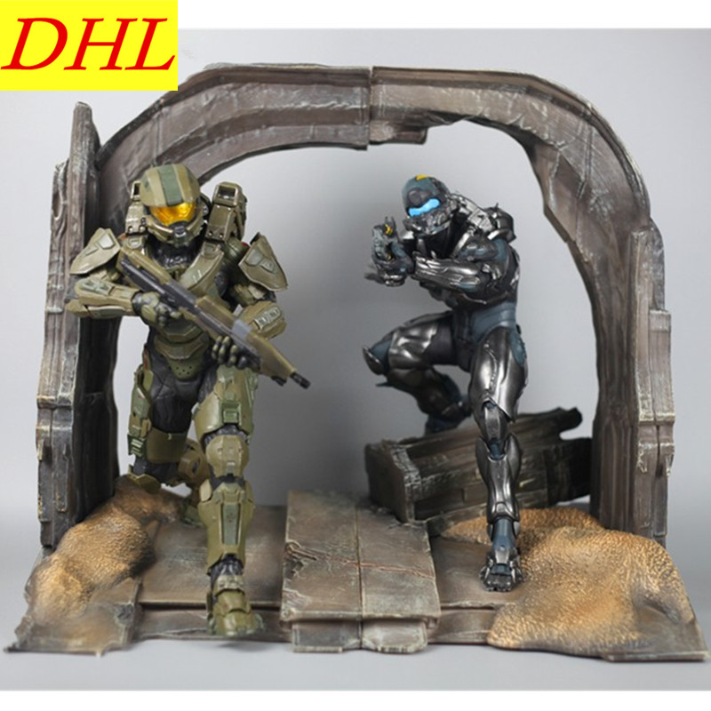 Halo 5:Guardians Game Scene Model Master Chief Impactor JAMESON LOCKE Statue Special Edition Resin Craftwork Home Decor L2469