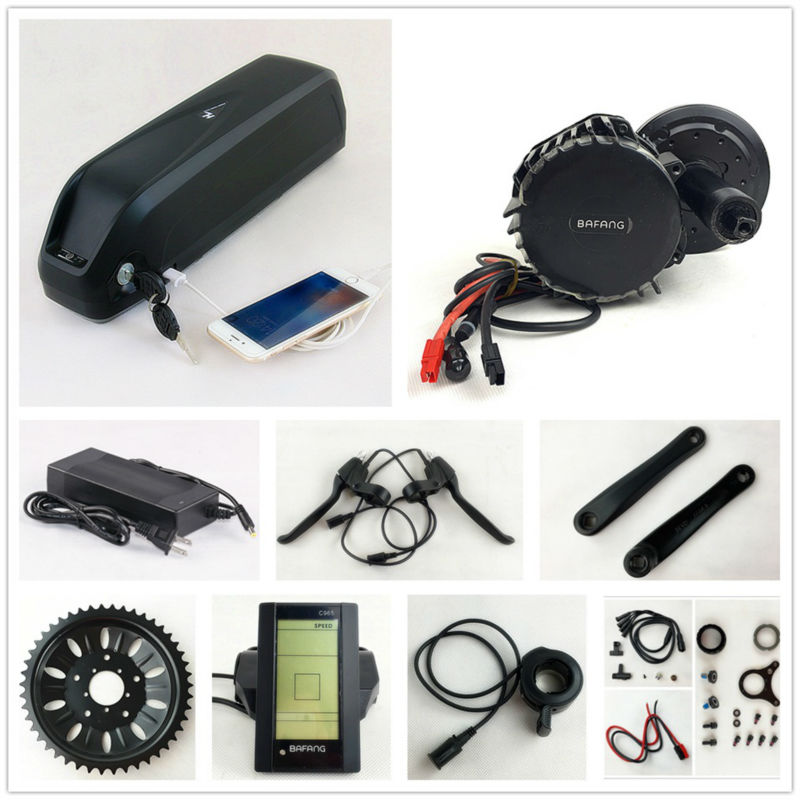 Bafang BBSHD 48V 1000W Electric Bike Motor 8fun mid drive electric bicycle conversion kit with 48V 14.5AH down tube battery bafang 8fun bbshd 1000w bbs hd 1000w bbs03 mid crank drive motor for diy electric bike conversion kit electric bicycle kit