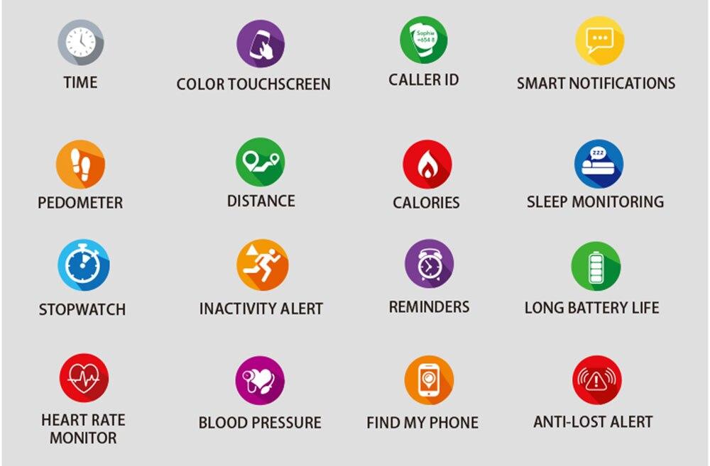 prova dwaterproof água esporte rastreador whatsapp para android ios