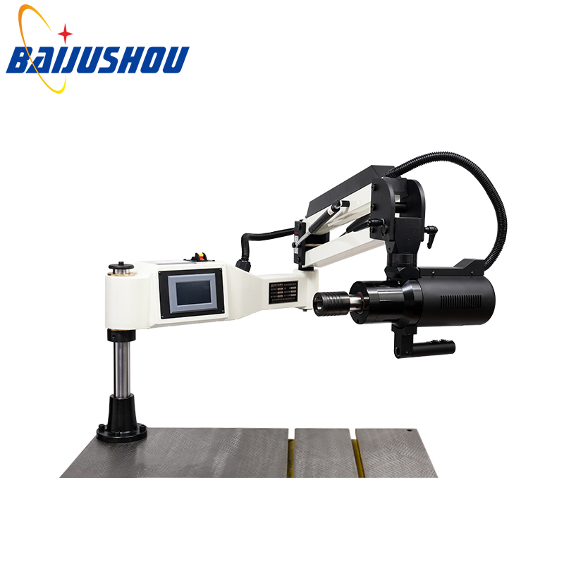 High Quality 220V Vertical Electric Tapping Machine Arm Collet M3-M16 Motor With English Panel(Worktable Not Included)