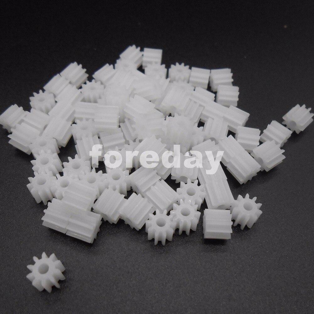 NEW 1000pc Plastic Spur Gear 102A 4 8X6 H D 0 5 Modulus T 10 Aperture