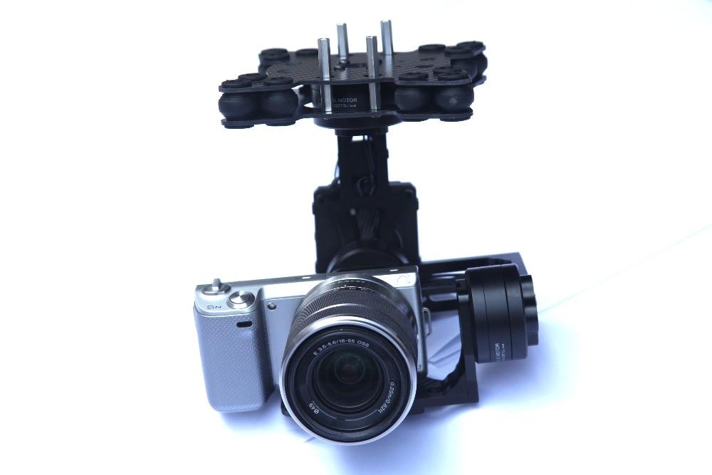 MOY 3 Axes Brushless Caméra Cardan w/32bit Alexmos Contrôleur/ipower moteur pour bmpcc Sony NEX 5N 7N FPV Photographie Aérienne