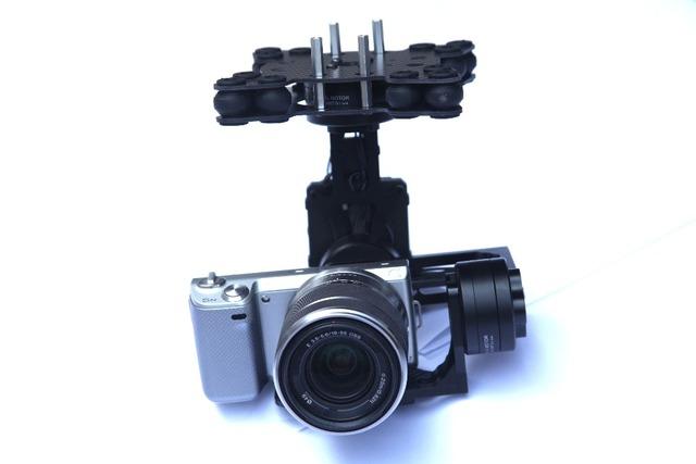 MOY 3 Ejes Sin Escobillas Cámara Gimbal w/32bit Alexmos Controller/ipower motor para Sony NEX 5N 7N bmpcc FPV Fotografía Aérea