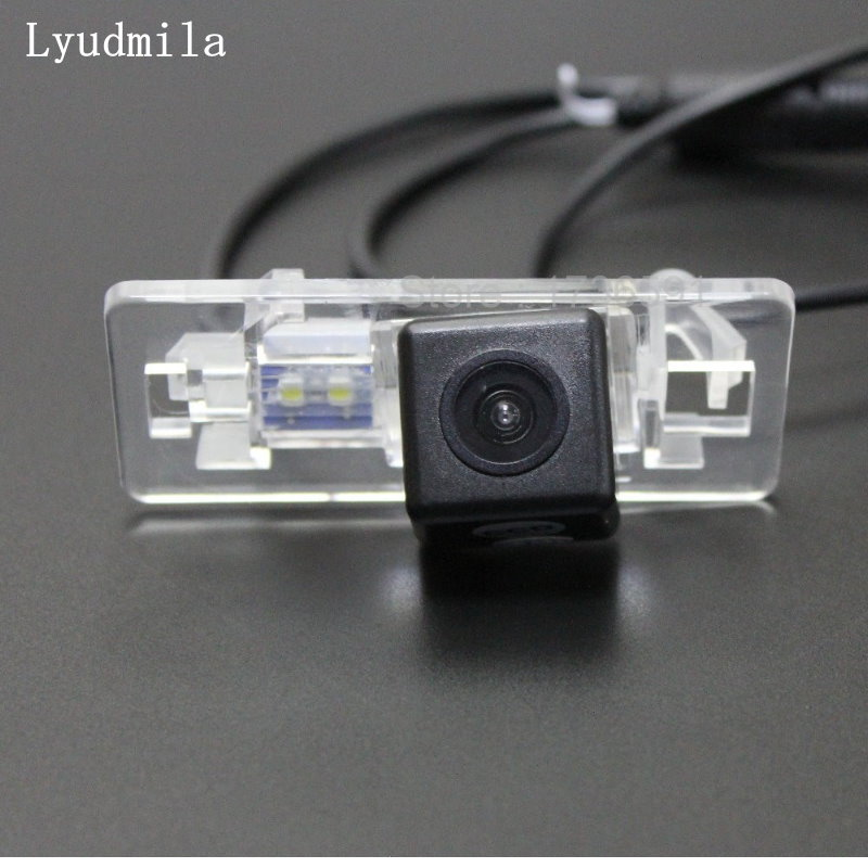 Lyudmila Car Rear View Camera FOR SEAT IBIZA ST 5D MK4 6J 2009~2017 / Car Parking Back Up Reverse Camera / HD CCD Night Vision