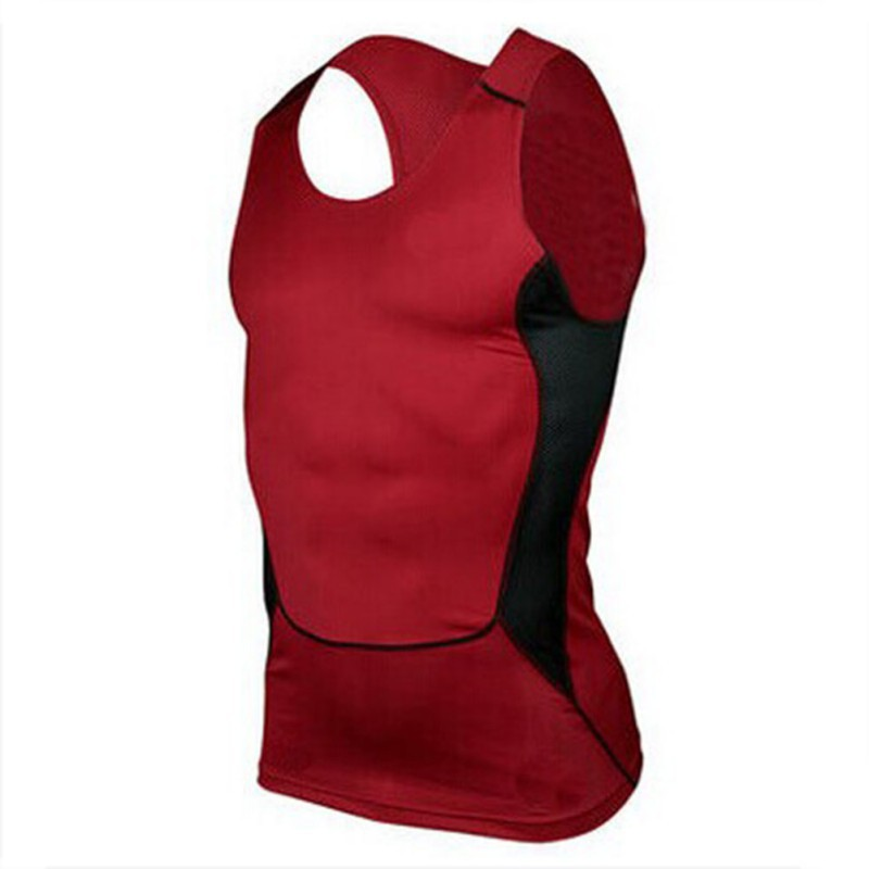 2018 Compression Men's   tank     tops   Casual tight   tank     tops     Tops   Slim Man Muscle Vest Quick Dry   tank     tops
