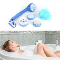 Bath Spin SPA Massage Electric Shower Brush 5 In 1 Cleaning System Long Handled Relax Spin