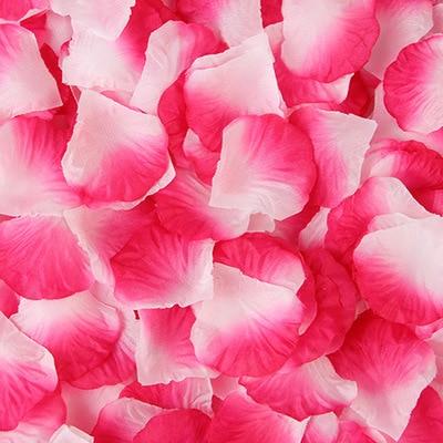 2000pcs/lot Wedding Party Accessories Artificial Flower Rose Petal Fake Petals Marriage Decoration For Valentine supplies 17