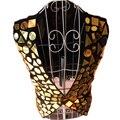 Мода Stage Одежда Жилет для Мужчин с Блестками DJ Шоу Певица Танцор Clothing Cotton Fabric Best Performance Костюм DH-029