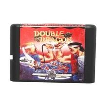 Double Dragon 16 bits Tarjeta de Juego MD Para Sega Mega Drive Para Génesis