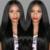 8A Peruano Hetero Full/Parte Dianteira Do Laço Perucas de Cabelo Humano Peruano Do Cabelo Humano Perucas Linha Fina Natural Com o Cabelo Do Bebê Em Linha Reta perucas
