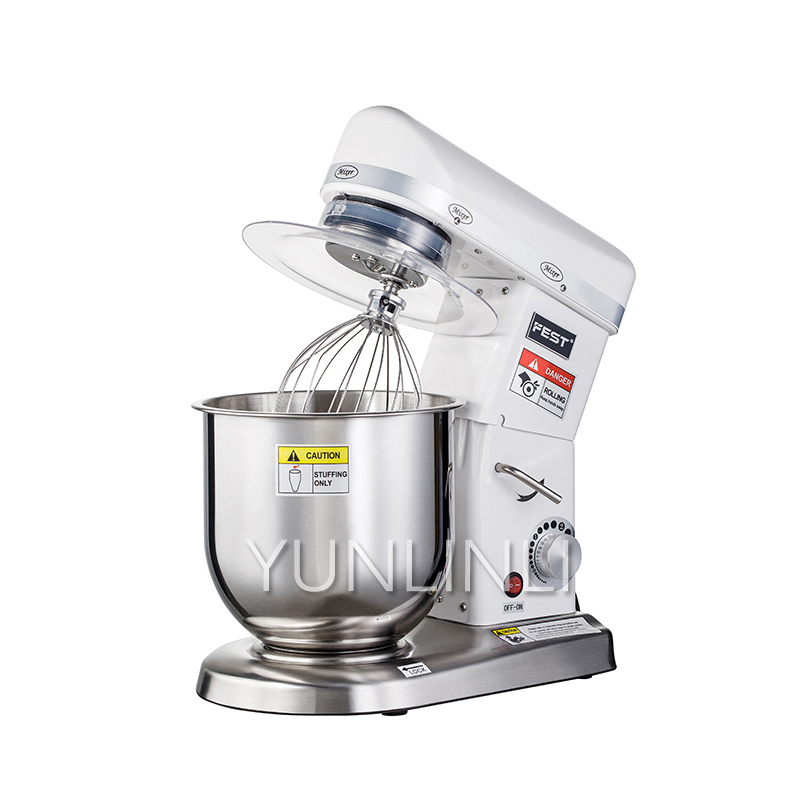 7L Electric Bread Dough Mixer Eggs Blender Kitchen Stand Food Milkshake/Cake Kneading Machine Maker RC-7L