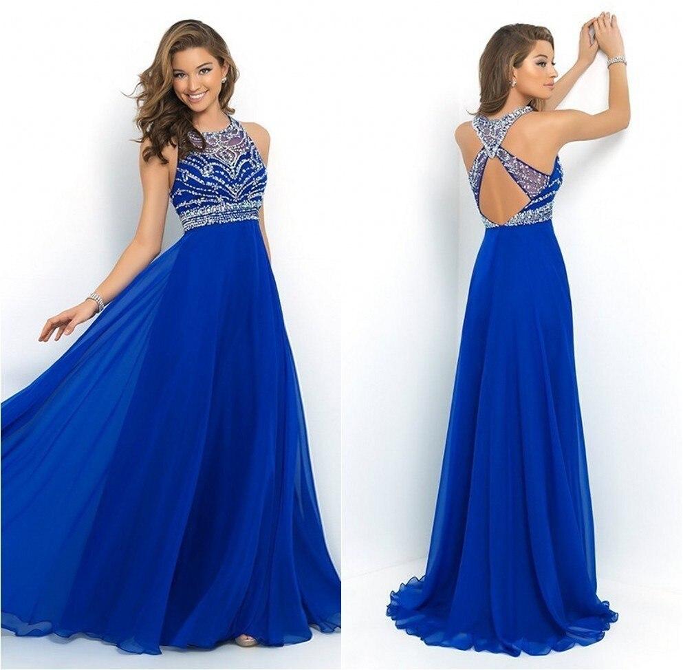 royal blue prom dresses - 596×598