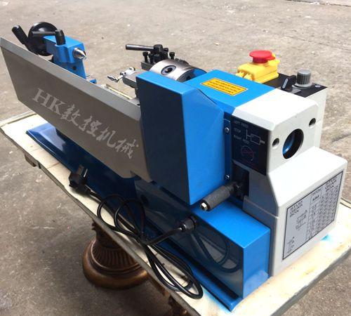 Купить с кэшбэком CJ0618 lathe small lathe with digital speed display lathe 550W power lathe mini