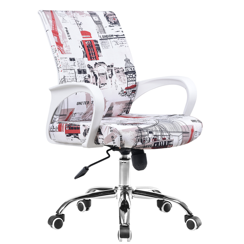 WB#3471 Computer learning desk home students study ergonomic mesh office chair 240337 ergonomic chair quality pu wheel household office chair computer chair 3d thick cushion high breathable mesh