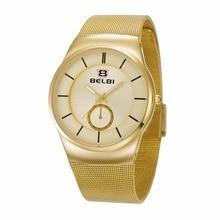 Orologio Uomo 2016 Men Watch Luxury Famous BELBI Brand Watches Waterproof Men Clock Stainless Steel Quartz Wristwatch for Men
