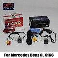 2 em 1 Collision Avoidance ativo sistema de segurança Car câmara de visão traseira + Laser luz de nevoeiro / para Mercedes Benz para GL X164 2006 ~ 2012