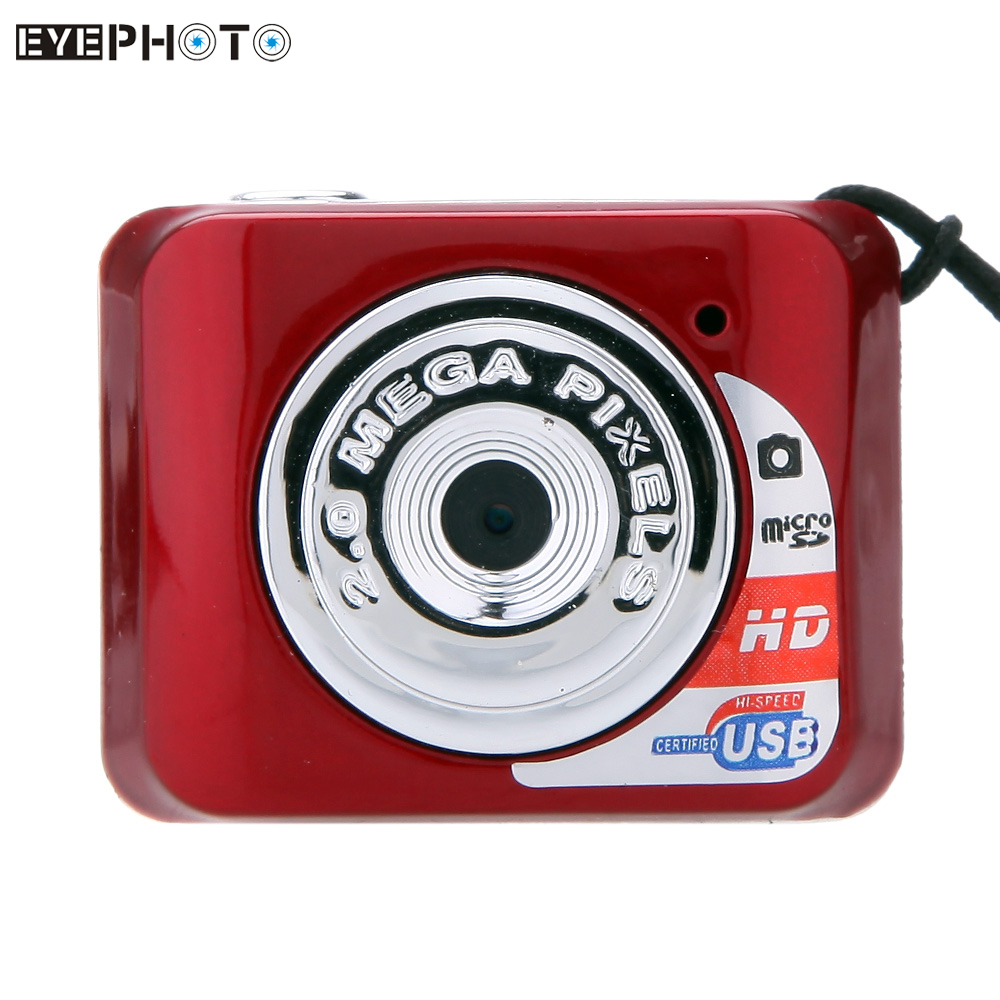 X3 Портативный Ультра Мини Камеры Видеокамеры HD Высокая Denifition Цифровая Камера Mini DV Поддержка 32 ГБ TF Card с Микрофоном