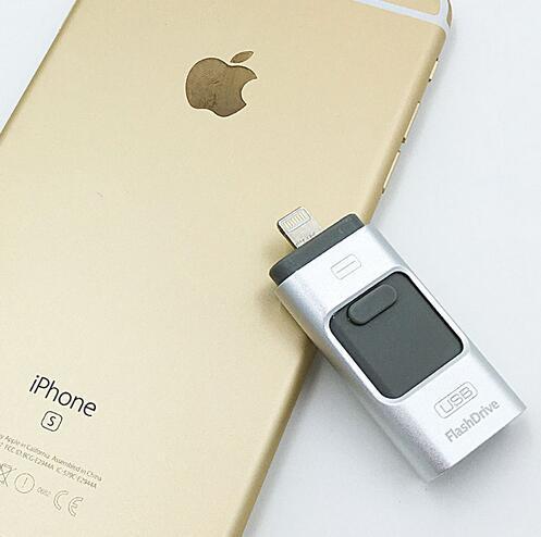 Usb Flash Drive HD i-Flash Pendrive OTG Memory Stick for iPhone 5/5s/6/6s Plus/7/7 Plus/iPad/16/32/64/128GB Pen Drive 2016 NEW