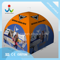 Waterproof Quick Automatic Opening Customized PVC Tarpaulin Inflatable Legs Dome Tent Inflatable Tent Marquee Outdoor Tent