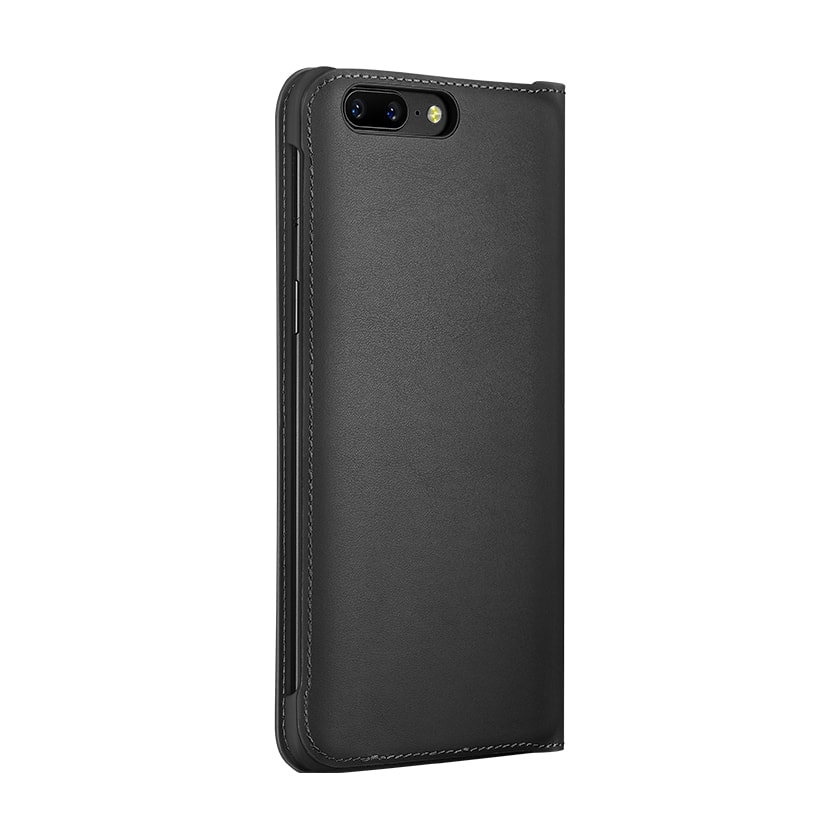 10292d7ad6c Original Official OnePlus 5 5T 6 Flip Cover Smart Leather Cover with Sleep  Wake Up Card Slot for OnePlus 6 Case PU Leather Case-in Flip Cases from ...
