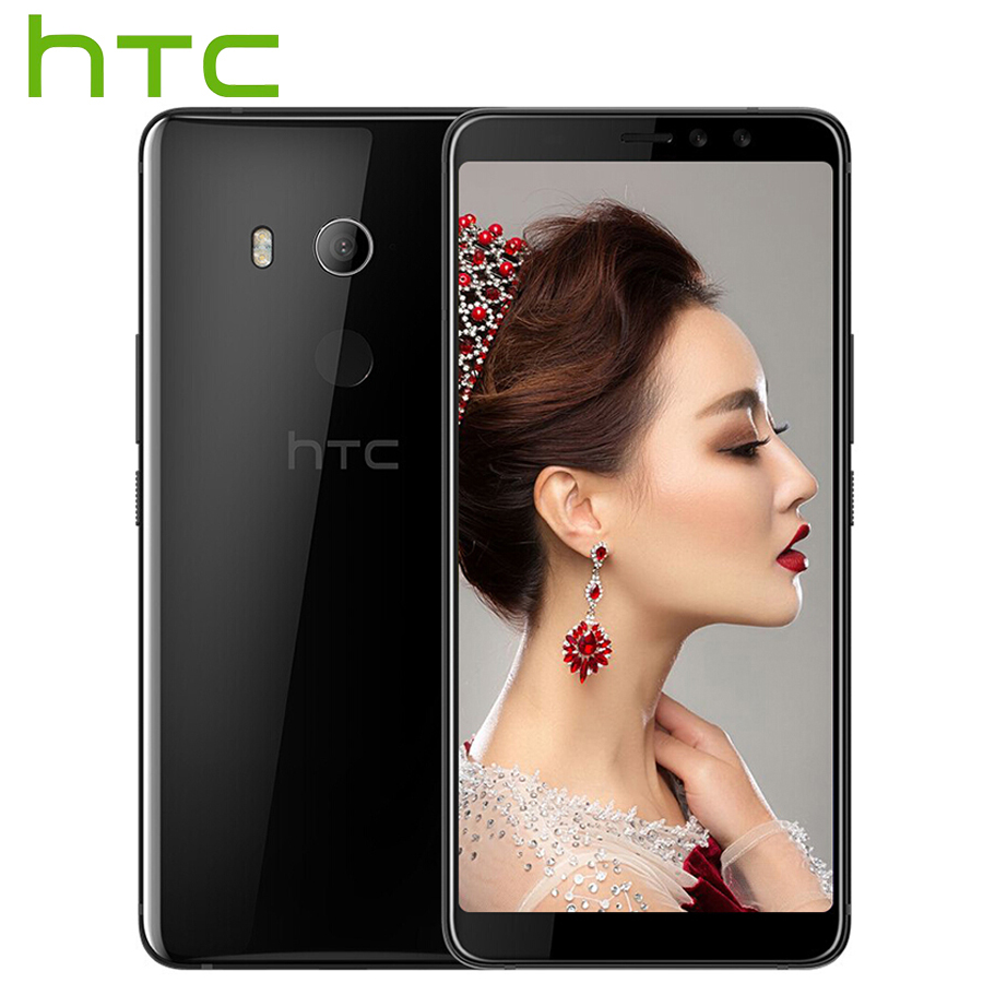 Versión Global HTC U11 ojos 4G LTE teléfono móvil 6,0 pulgadas 4 GB RAM 64 GB ROM Android 7,0 Snapdragon 652 Octa Core IP67 teléfono inteligente