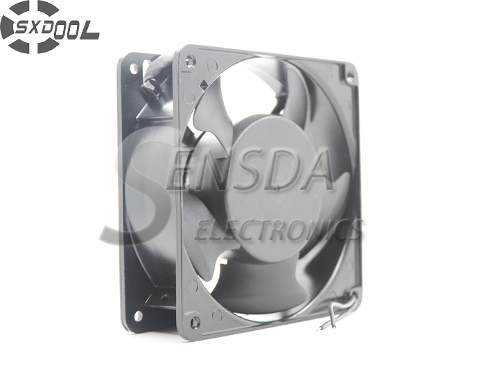 SXDOOL high quality 12038 1238 120mm 12cm AC 110V 115V 0.28A Dual ball Bearing server inverter pc case cooling fan nidec d12e 12ps2 01b 12038 120mm 12cm dc 12v 1 70a 12 cooling fan server inverter case cooler