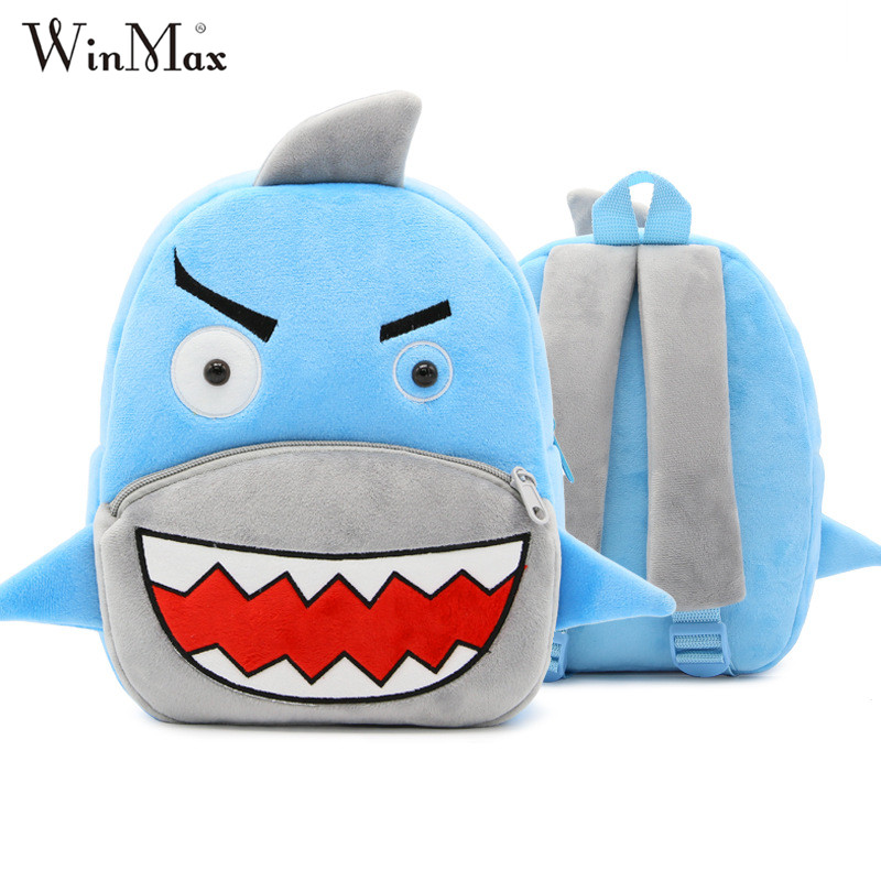 2017 Winmax Factory Outlet Girls 3D Cartoon Plush Boys Backpack Kindergarten Schoolbag Animal Kids Backpack Children School Bags 2017 new children school backpacks small 3d animal monkey backpack baby toddler backpack kids kindergarten schoolbag for boys