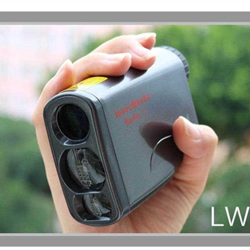 6x21 télémètre Laser monoculaire portable 450 M dispositif de mesure de Distance étanche pour les sports de plein air ou le bâtiment d'ingénierie
