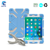 Universal Silicone Shockproof Case for Teclast P80H 8.0 iPad mini 7.9 Huawei T3 8.0 for Lenovo TAB 4 8.0   Tablet   with Puncher