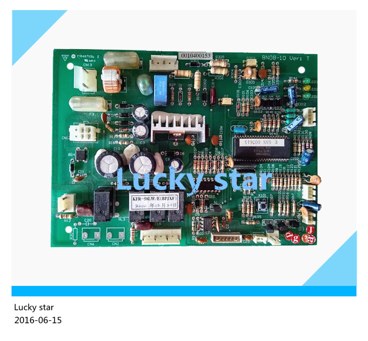 95% new for Haier Air conditioning computer board circuit board KFR-52LW/E(BPJXF) 0010400153 good working 90% new used for air conditioning computer board circuit board kfr 25wx bp1 kfr 25gw bpx2 0600169 good working