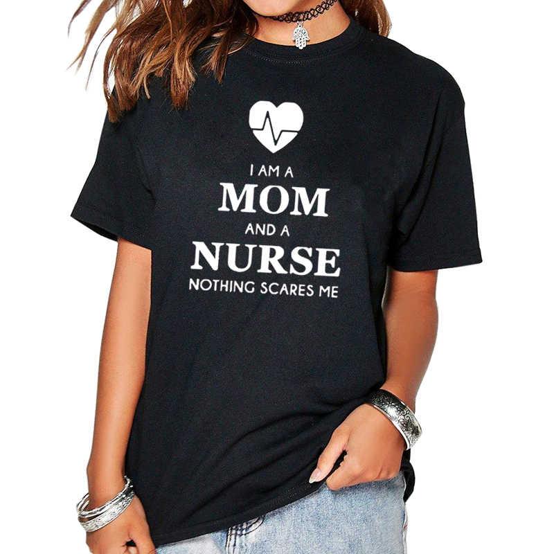 2017ผู้หญิงเสื้อยืดI Am Aแม่และAพยาบาลT Umblrตลกฮาราจูกุสินค้าเสื้อผ้าสำหรับผู้หญิงเสื้อยืดF Emmeท็อปส์