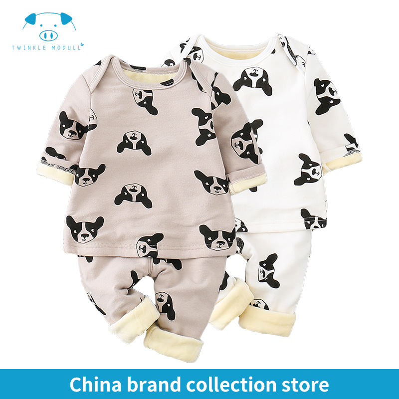 winter rompers newborn boy girl clothes set style baby fashion baby brand products infant clothing set clothing bebe MD170D069 2pcs set baby clothes set boy