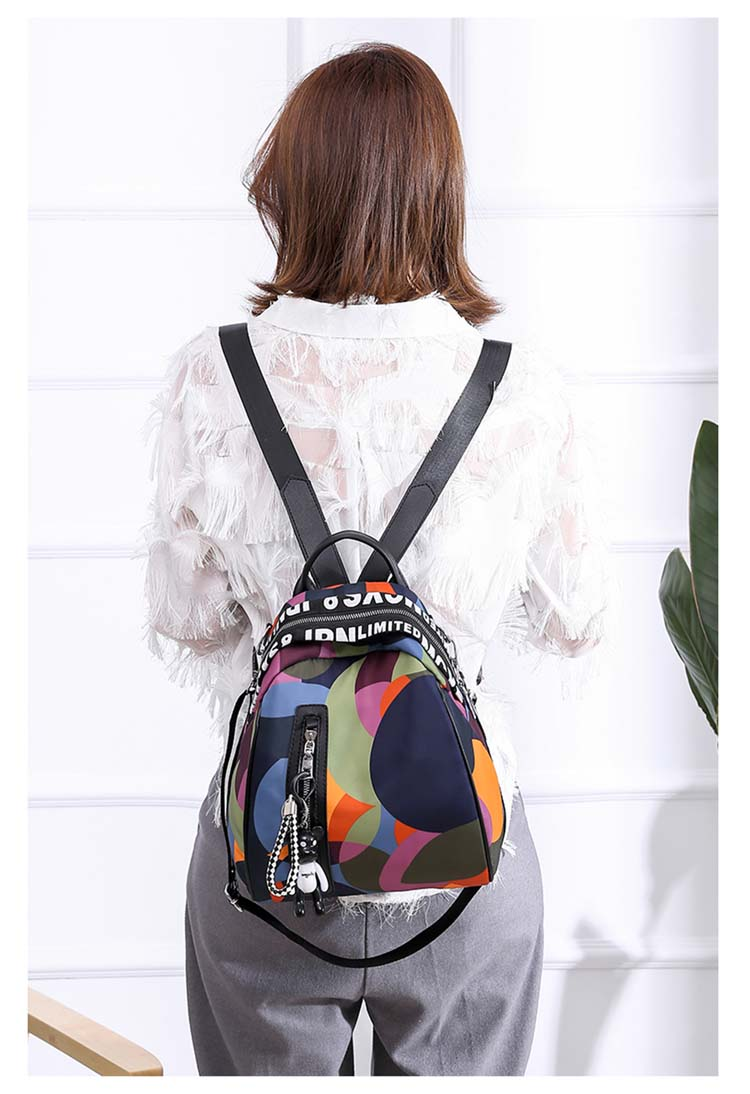 HTB1zt PaNrvK1RjSszeq6yObFXa2 2019 new ladies bear pendant Multifunction backpack high quality youth color backpack girl casual large capacity Bags for women