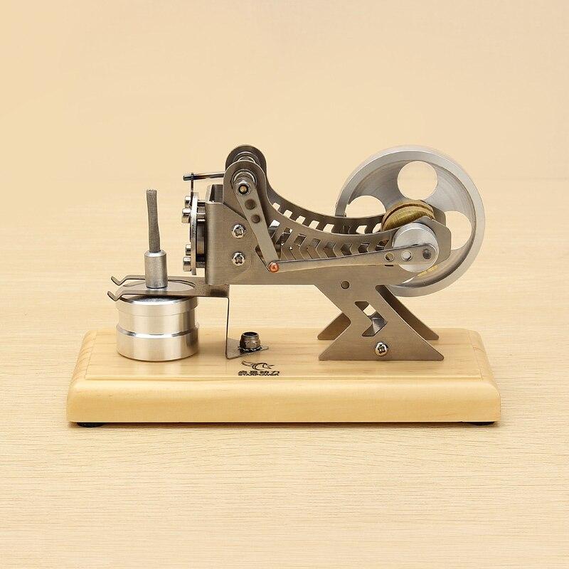 2018 New Arrival Stirling Engine Model Vacuum Motor Model Kit Engine Motor Educational Toys For Children Gift Kid Building Kits