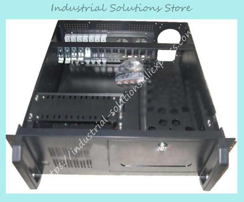 New 4U Computer Case 4U Server 2 Fan new 4u computer case 4u industrial computer case server computer case hard drive computer case 2 fan 0 8mm