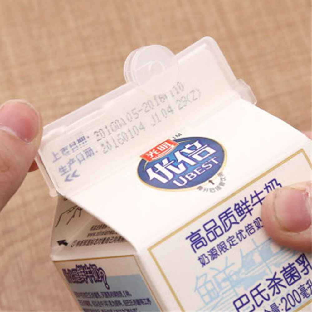 2Pcs Lot Milk Seal Plastic Clips Multifunctional Snacks Sealed Clips Keeping Food Fresh Sealed Box Folder